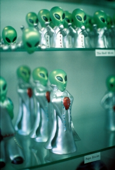 Roswell Aliens in the museum