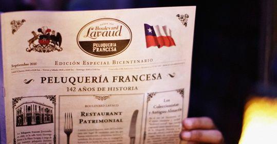 Peluqueria Francesa, Santiago, Chile