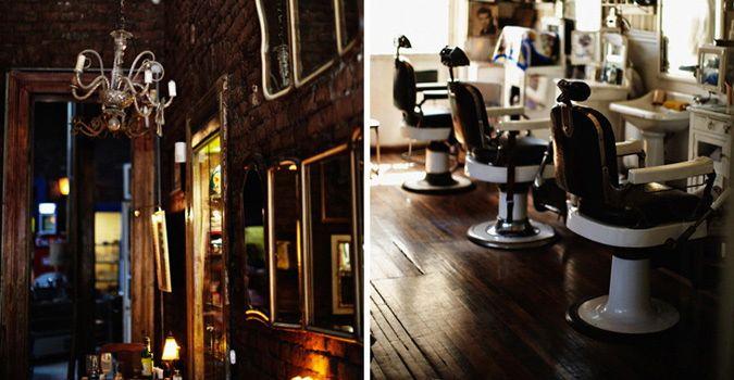 Peluqueria Francesa barber shop, Santiago, Chile