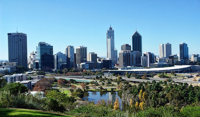 """View of Perth"