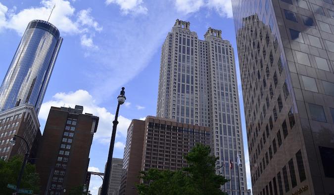 """view of downtown Atlanta"