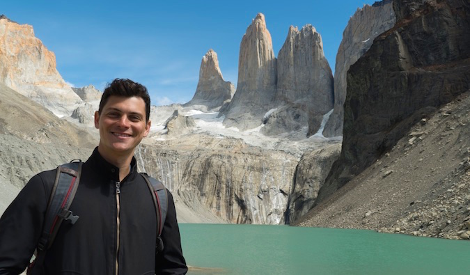 in torres del paine in patagonia