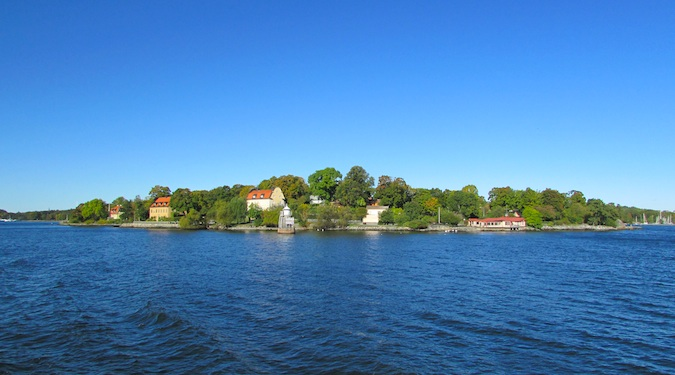 stockholm's harbor