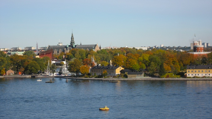 Sunny Stockholm, Sweden in the summer