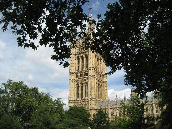 London Parliament house