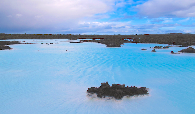 The Blue Lagoon in Reykjavík Iceland