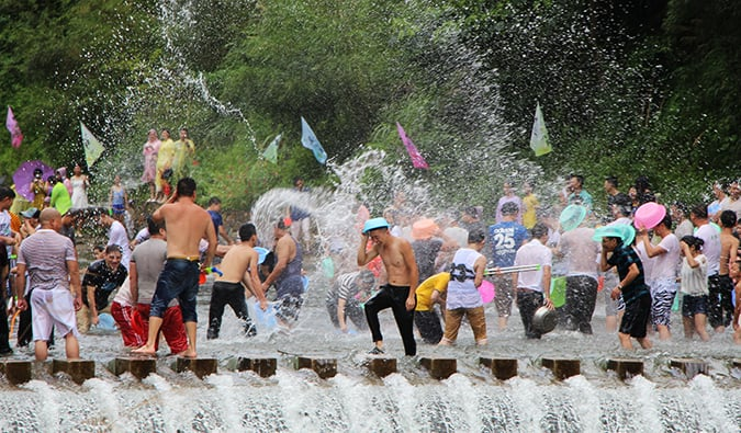 Songkran, Thailand's New Year in Bangkok