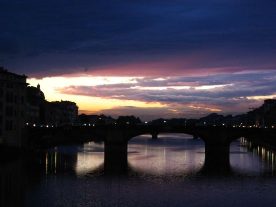 Florence Italy Sunset