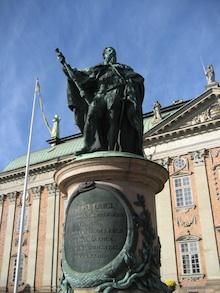 statue in stockholm sweden