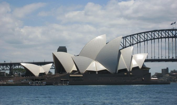 Sydney Australia harbor bridge