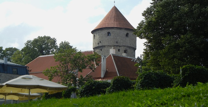 round tower in Tallinn, Estonia