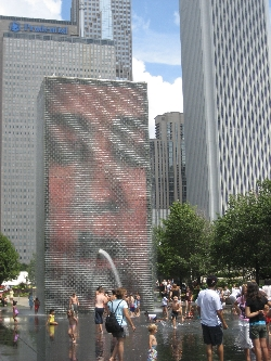 Chicago Water Fountain