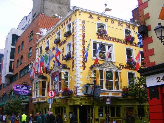 Temple Bar Ireland is the place to party