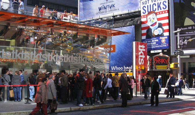 times square nyc ticket office