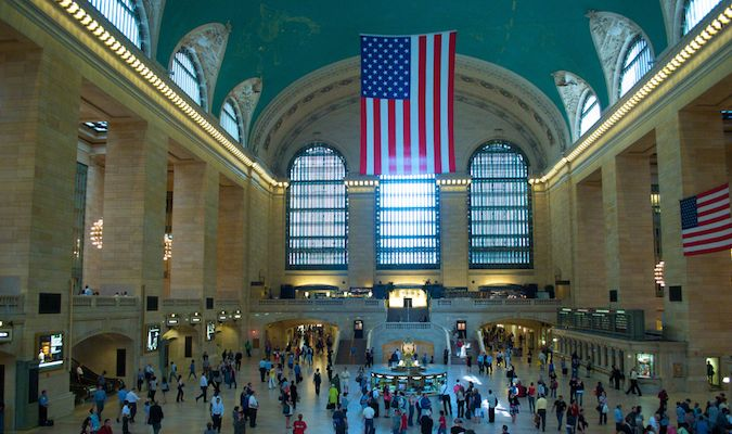 Grand Central Station's main terminal cannot be missed in New York City