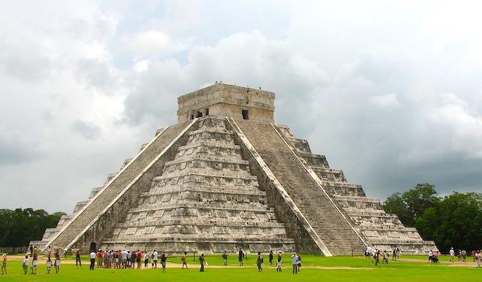 Chichén Itzá Mayan temples