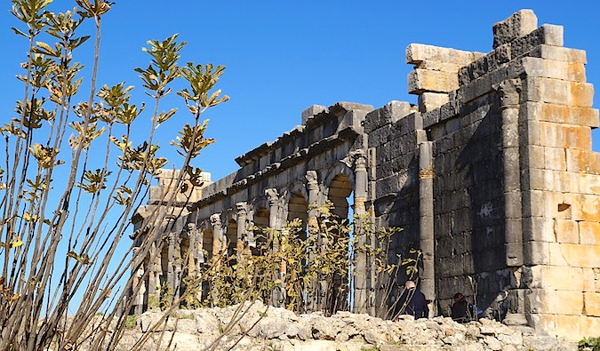 Volubilis in Morocco - one of the best preserved ruins