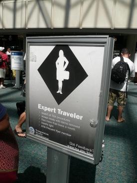 An Expert Traveler