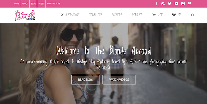 the blonde abroad screenshot