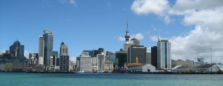 Visiting Auckland while traveling through New Zealand