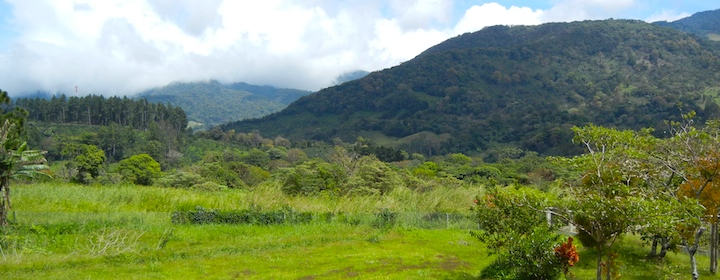 the beautiful mountains of boquete