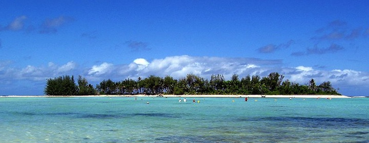 Visiting the tropical Cook Islands in the Pacific Ocean