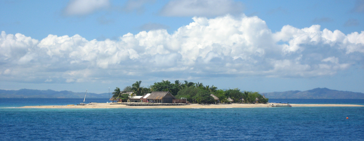 Spending time on the beautiful and heavenly islands of Fiji in the Pacific Ocean