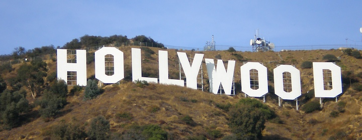 Visiting the hollywood sign in los angeles