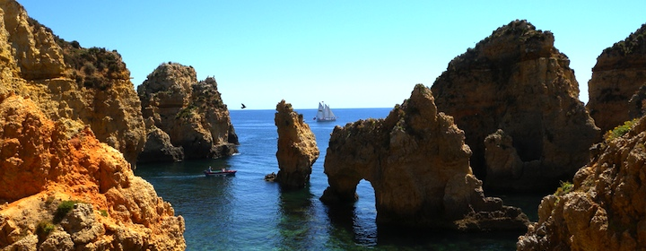 Vacationing in Europe and Lagos, Portugal