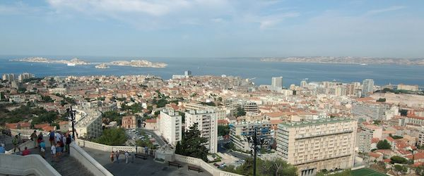 Explore the port town of Marseilles while backpacking through France