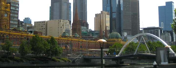 Beautiful Melbourne in Victoria Australia