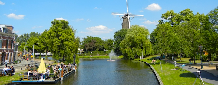 visiting picturesque netherlands, riding bikes and sampling Dutch culture