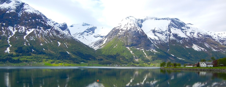 Fjords in northern Norway
