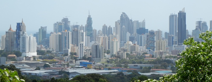 Stopping in the hub of Panama, panama city,