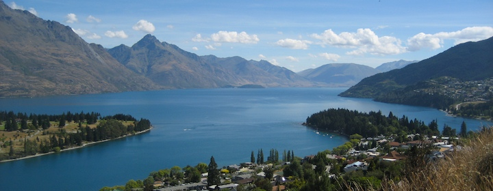 Visiting Queenstown in new zealand
