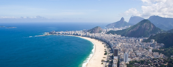 Hitting the famous Rio de Janeiro beaches in Brazil, South America