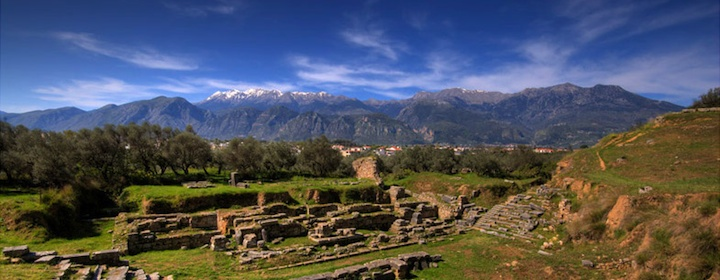 the ancient warrior capital of sparta