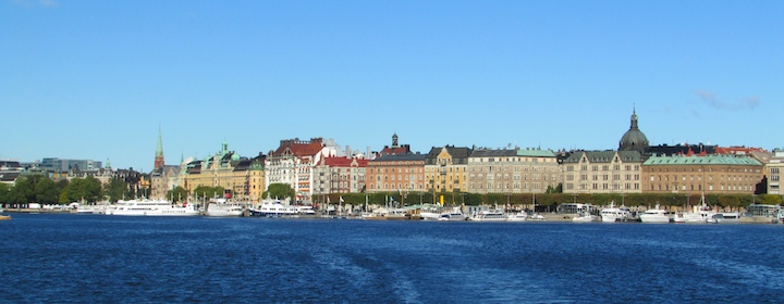 beautiful stockholm, the capital of sweden
