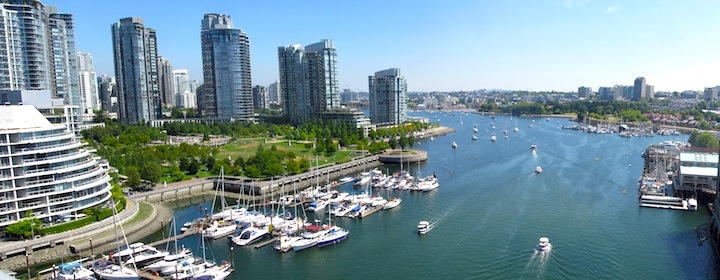 Visiting the bustling city of vancouver, Canada