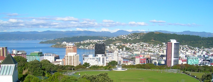 Visiting Wellington, the capital of New Zealand