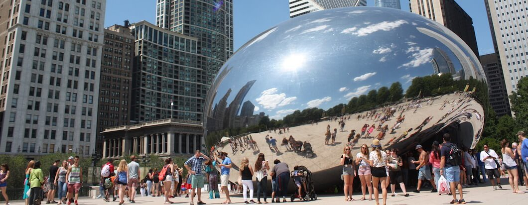 exploring the Windy City, chicago, in the midwestern united states
