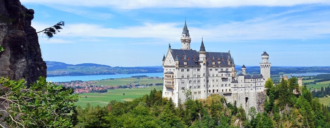 Experience the beautiful disney castle, bavarian beer, WWII history and tradition while traveling in Germany