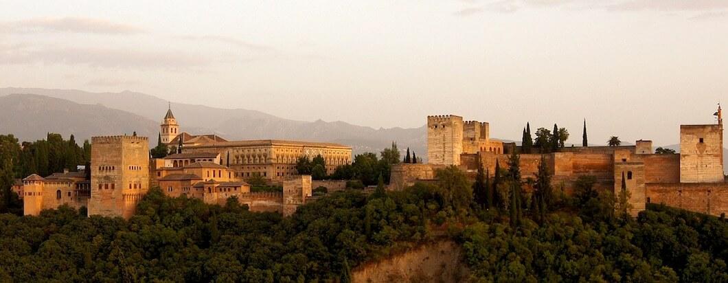 the alhambra of granada spain