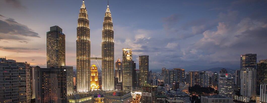 petronas towers of Kuala Lumpur
