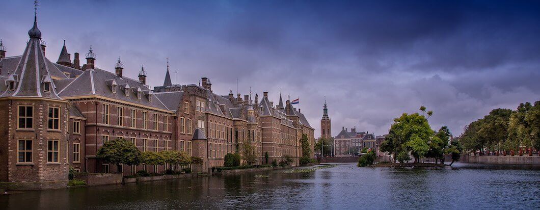 Visiting the Hague, Europe's center of justice in the Netherlands