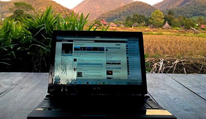A netbook that is good to travel with says David Dean
