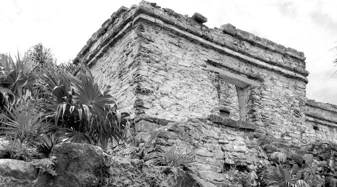 black and white observatory