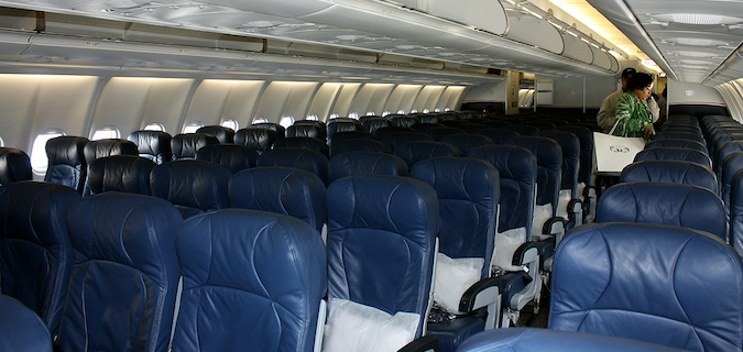 us airways interior