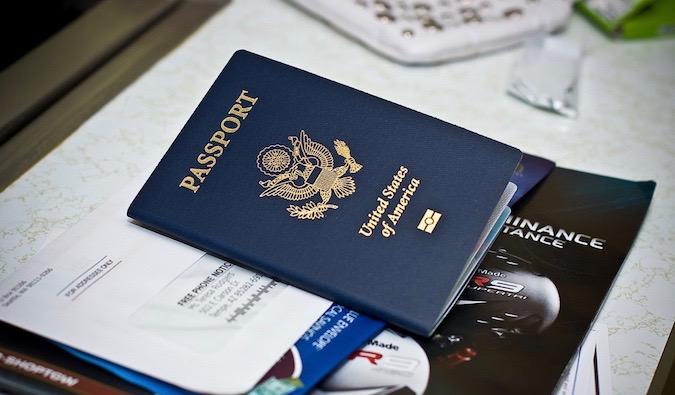 an american passport