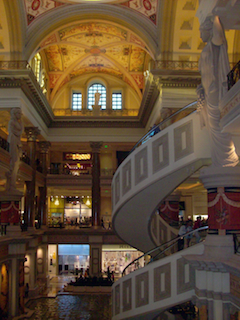 The Bellagio, a great hotel and casino in Las Vegas